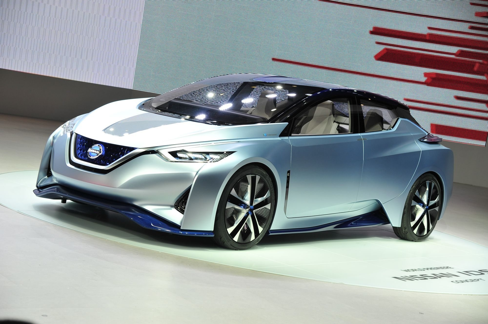 electric london streets car s nissan nissans gettyimages test techcrunch tackles self driving