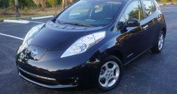 2013 Nissan Leaf SV Black