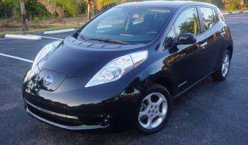 2013 Nissan Leaf SV Black full