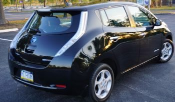 2013 Nissan Leaf SV Black full
