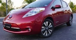 2014 Nissan Leaf SL Red