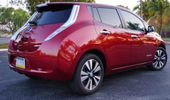 2014 Nissan Leaf SL Red full