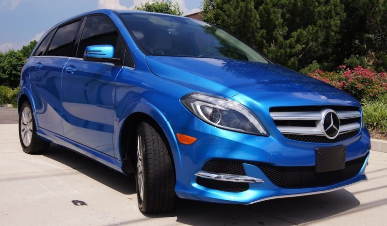 2014 Mercedes-Benz B250E Blue full