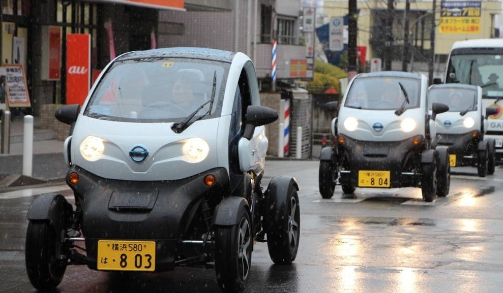 Nissan Launched Carsharing Service In Japan Featuring Renault